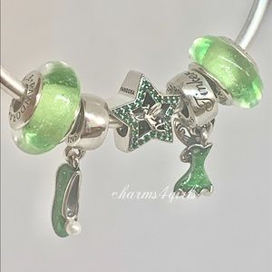 Authentic PANDORA Tinker Bell Set